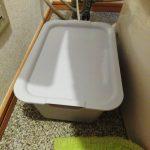 トイレ掃除をラクに第二弾!ウォシュレット周りをスッキリさせる収納ボックス