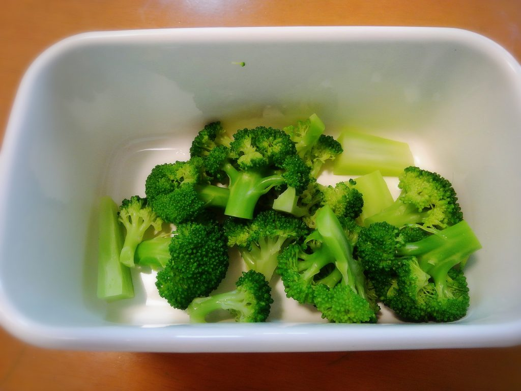 お弁当のおすすめ副菜 ブロッコリー