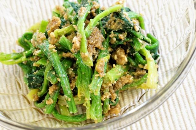 お弁当におすすめの副菜 ほうれん草の胡麻和え