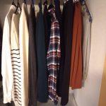 【ミニマリストの服】冬の基本アイテムの枚数は14着!