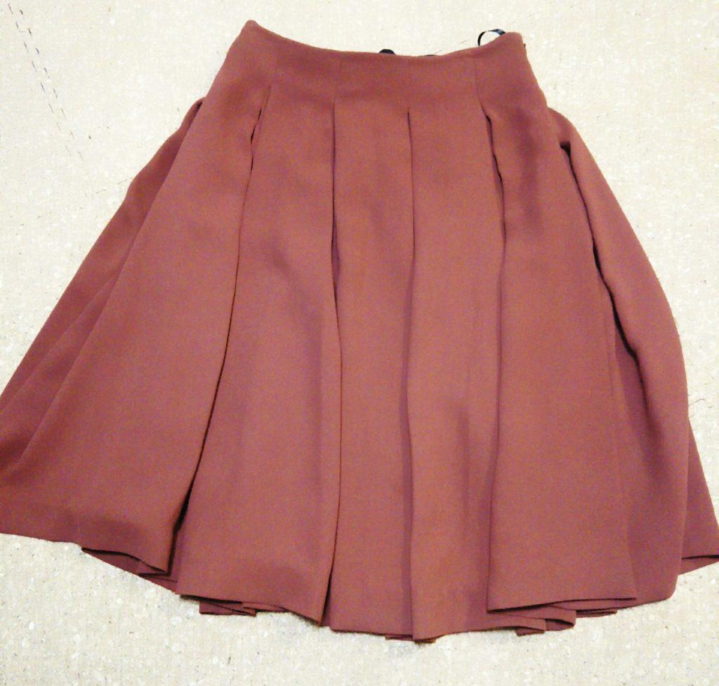 ユニクロのフレアスカート