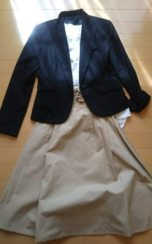 30代ママ入学式の服装