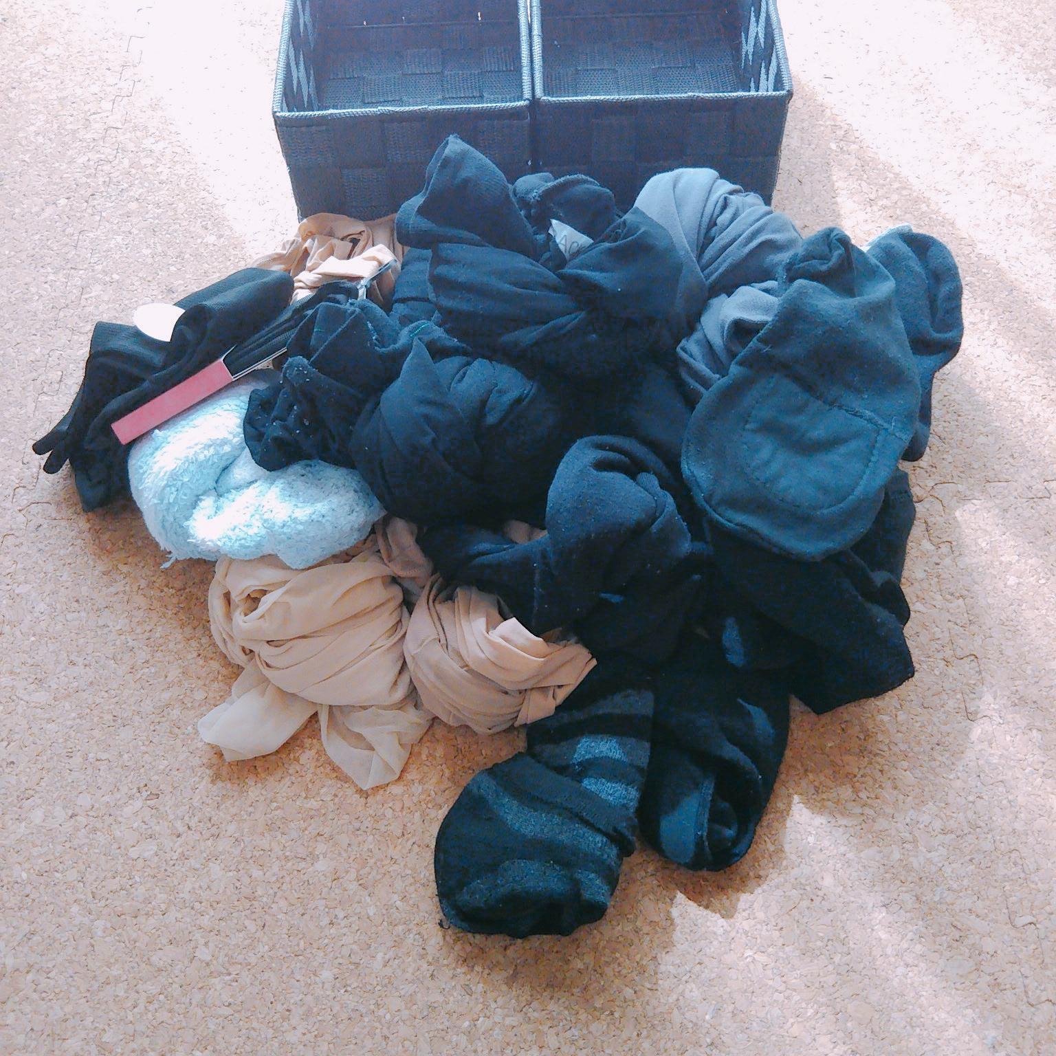 靴下の断捨離