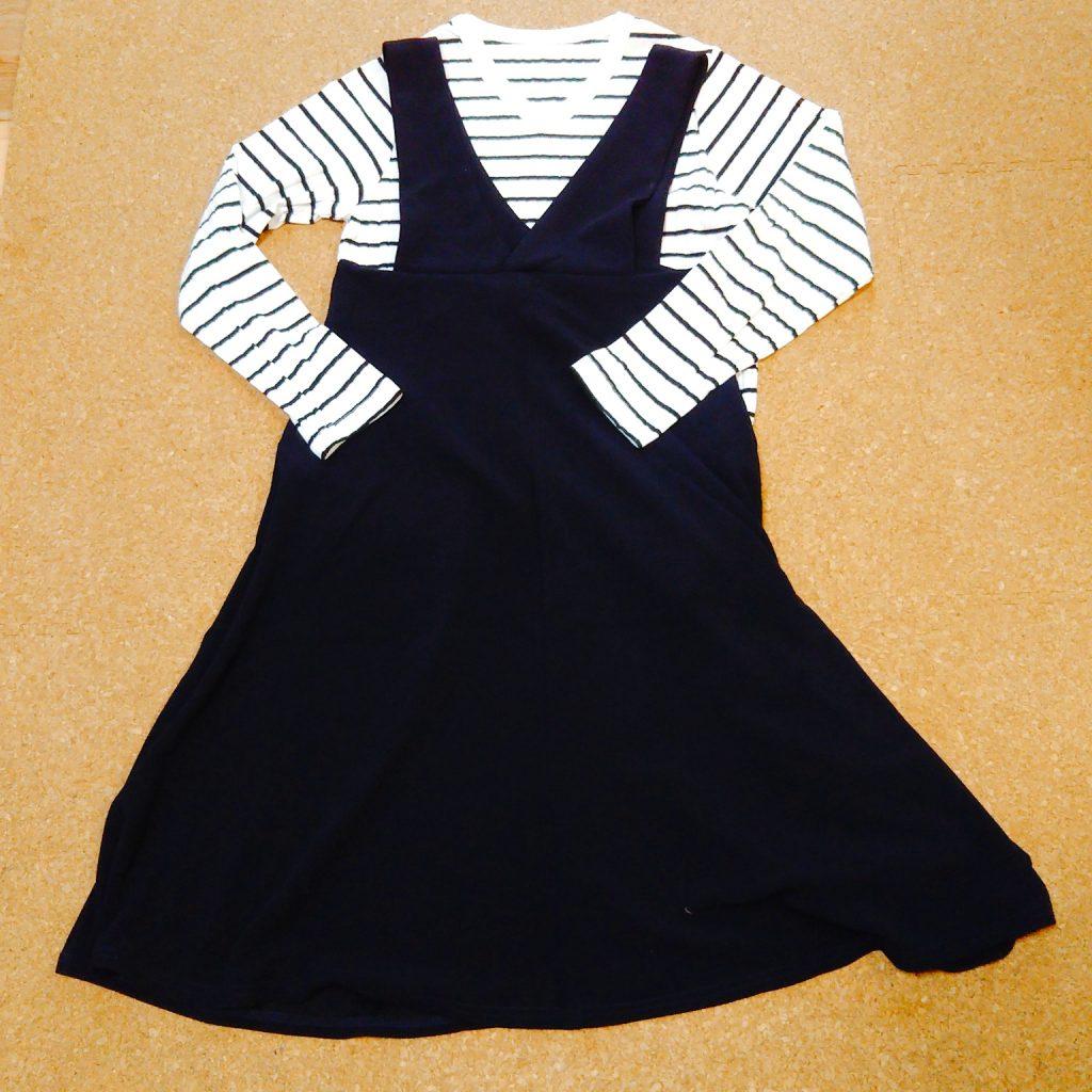 ミニマリストの秋服:長袖