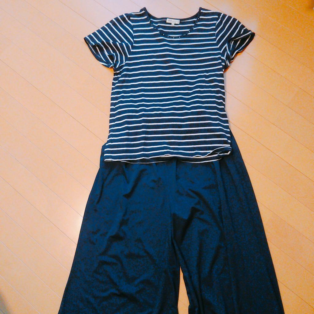 ミニマリストの秋服:夏服のまま