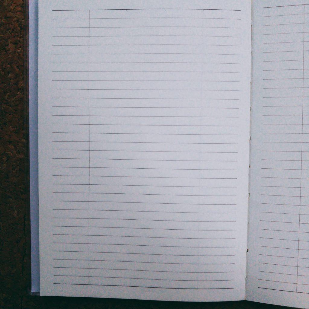 seriaのバーチカル手帳 メモ