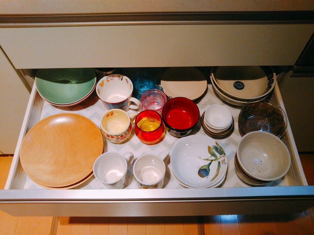 食器棚の大掃除と断捨離