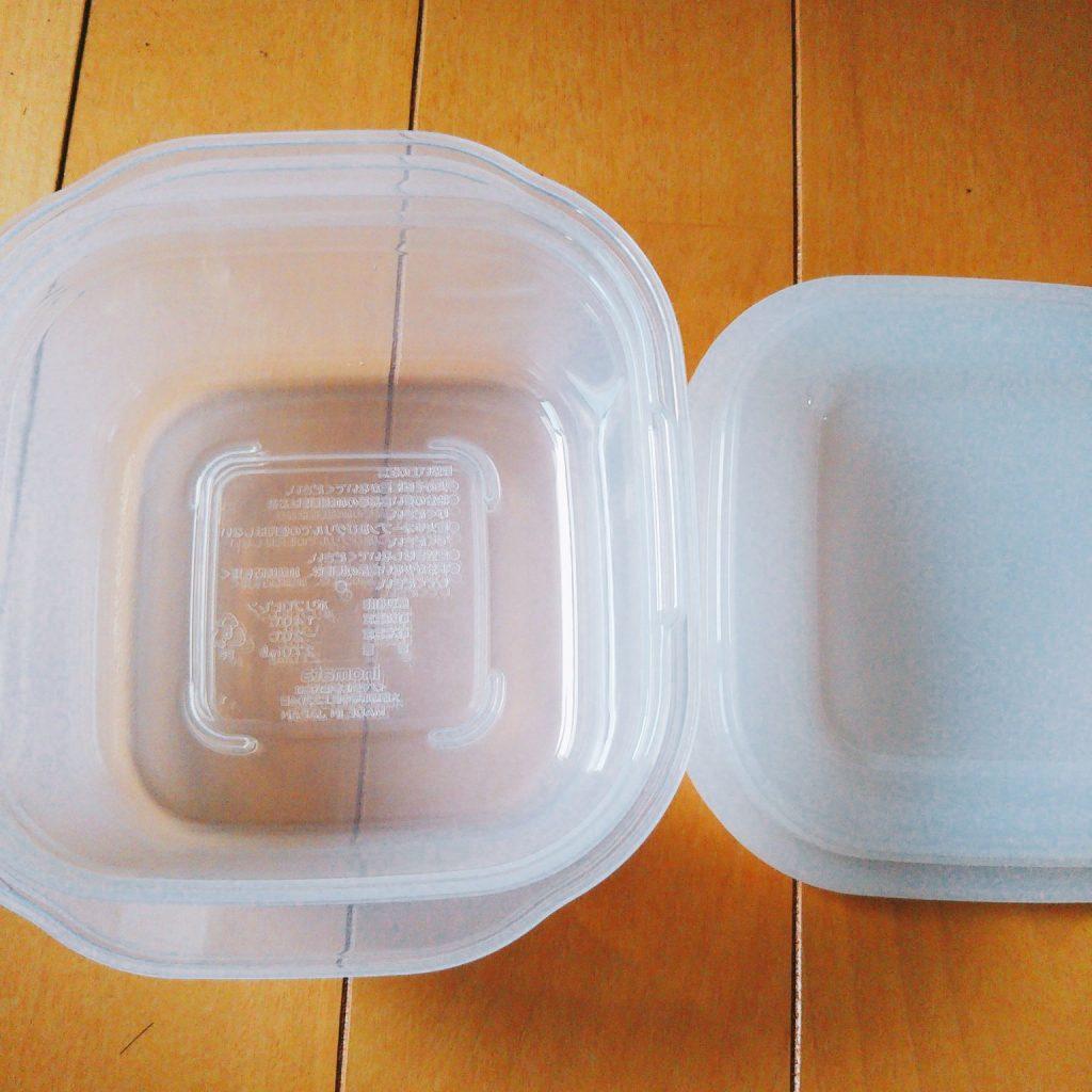 セリアの洗いやすい保存容器